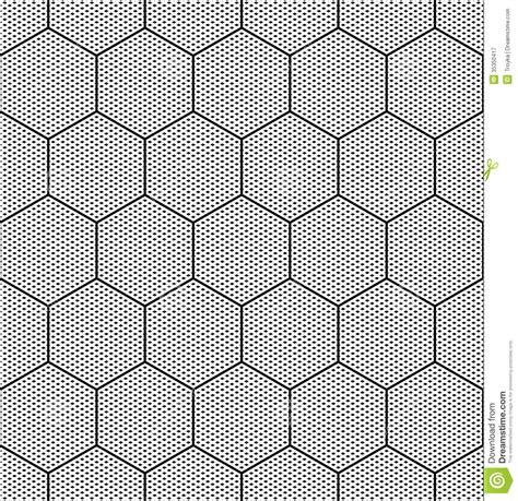 seamless hexagon pattern vector seamless hexagons texture stock vector image of