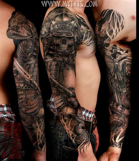 snakes and skull sleeve tattoo jd pinterest skull