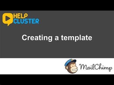 creating mailchimp templates mailchimp creating a template