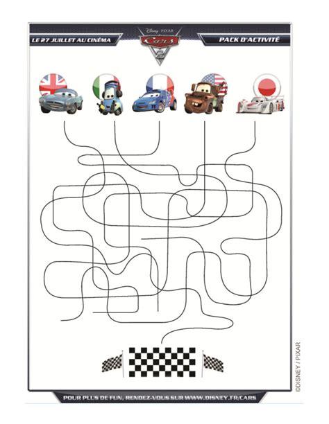 si鑒e auto 4 ans jeux de labyrinthe cars 2 fr hellokids com