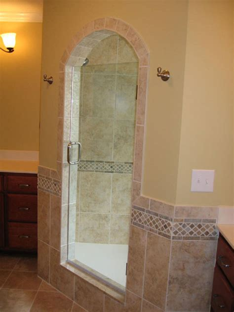 Shower Stall Without Door Walk In Shower Steam Stall Glass Door Granite Tile Custom Luxury Homes Built Indianapolis