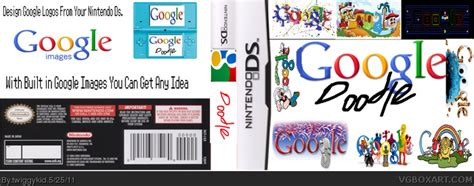 doodle for nintendo ds doodle nintendo ds box cover by twiggykid