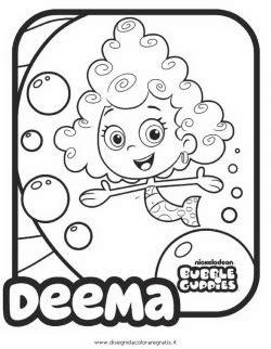 Bubble Guppies Coloring Pages Halloween   imagens bubble guppies para colorir