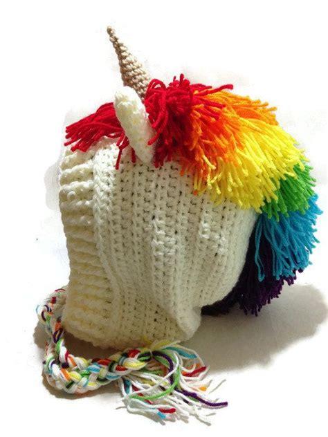 crochet pattern unicorn hat rainbow unicorn hood crochet pixie hat unicorn cosplay
