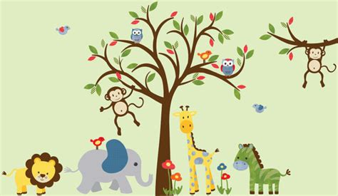 Boy Room Wall Decal Kids Room Wall Decal Safari Wall Decal Safari Nursery Wall Decals