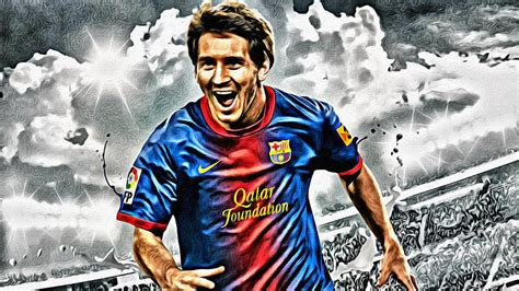 50 S Style Home Decor lionel messi celebration poster painting by florian rodarte