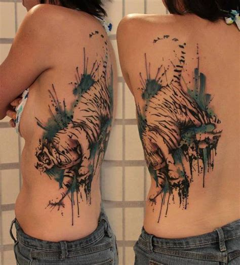 watercolor tiger tattoo 55 awesome tiger designs watercolor tiger tiger