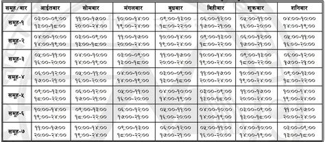 Load Shedding Schedule From Today by New Loadshedding Schedule Effective From Mangsir 23 Dec 8 Rdman
