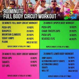 Circuit workouts workout and full body on pinterest