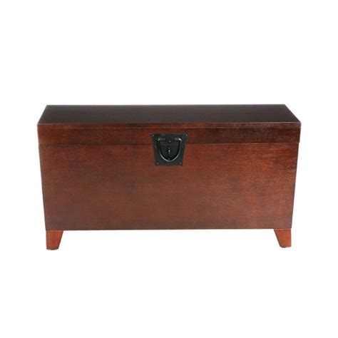 Pyramid Trunk Coffee Table Southern Enterprises Pyramid Storage Trunk Coffee Table In Espresso Ck2224
