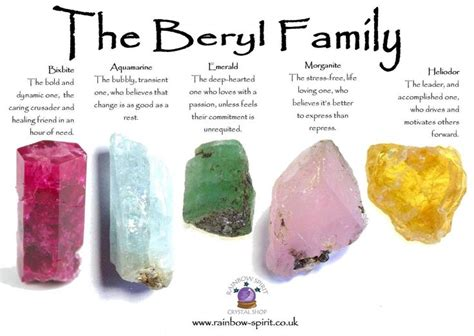 the origin of the family property and the state books my healing properties poster on the beryl family