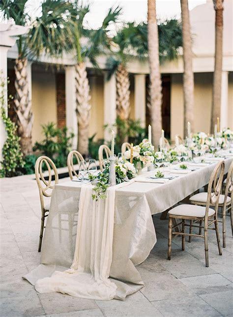 Wedding Table Linen Ideas