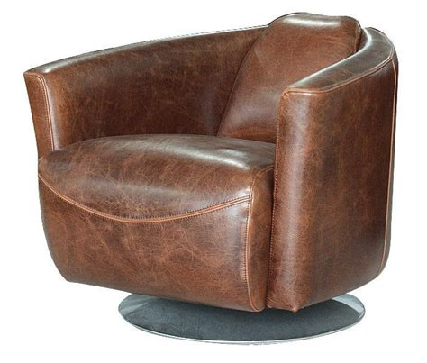 Brown Leather Swivel Chair by 1000 Ideas About Brown Leather Chairs On