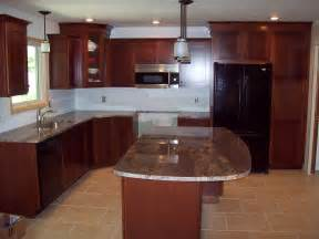 Kitchen Colors With Cherry Cabinets Cherry Kitchen Cabinets For More Beautiful Workspace