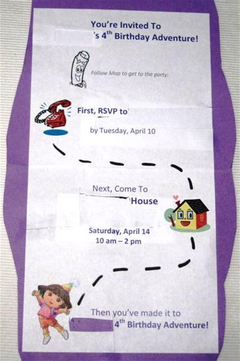 Dora The Explorer Birthday Invitations Ideas ? Bagvania