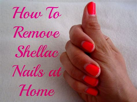 removing shellac nails at home oh yes it s possible