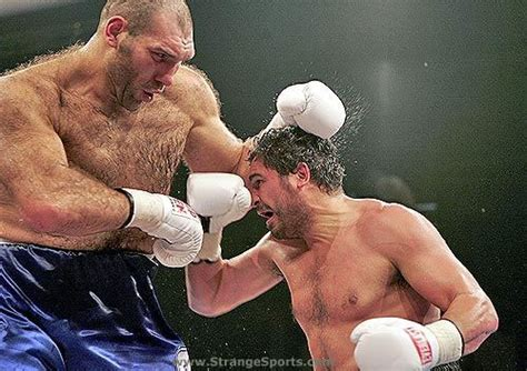 big russian strange boxing big russian fighter lil