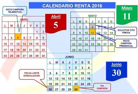 renta 2016 guipuzcoa fechas declaraci 243 n renta comienza la ca 241 a de la renta 2016