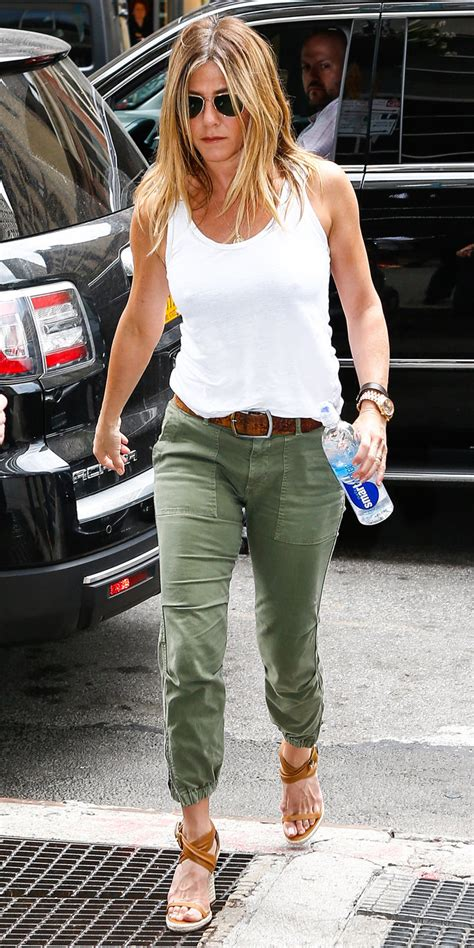 jennifer aniston casual jennifer aniston wears a casual chic look in n y c