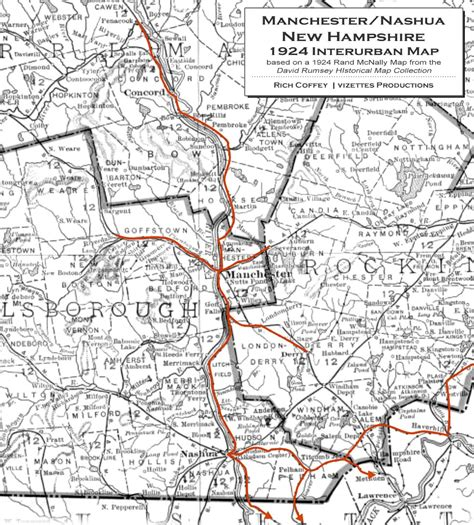 manchester new hshire map manchester and nashua new hshire trolleys
