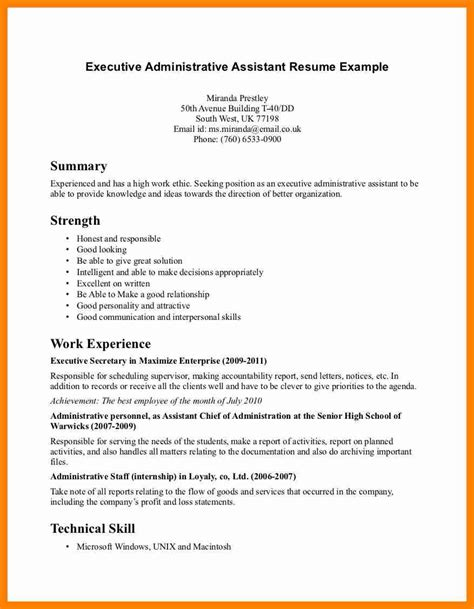 resume objective exles administrative assistant 12 office assistant resume objective letter signature