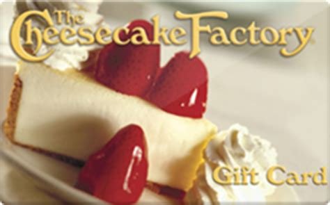 Cheesecake Factory Check Gift Card Balance - cheesecake factory gift card discount 10 00 off