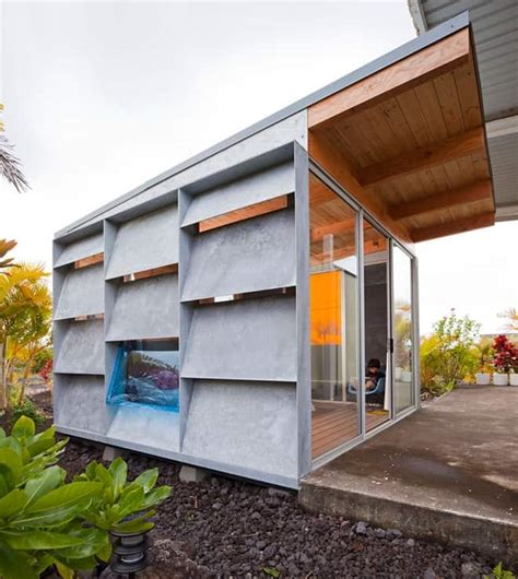 innovative homes a guest house built with an innovative system