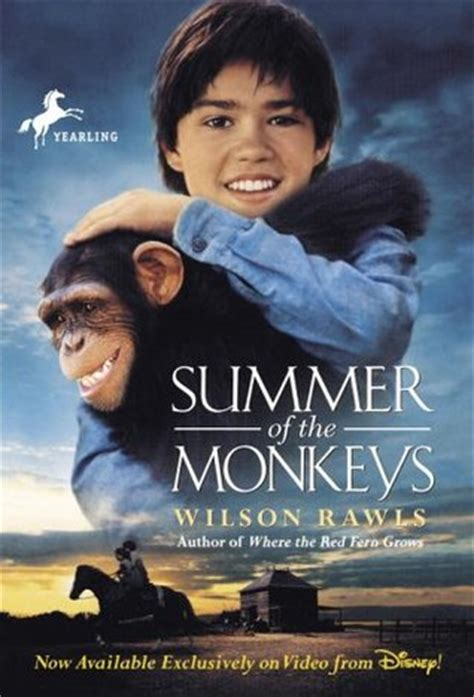 summer of the books summer of the monkeys by wilson rawls reviews