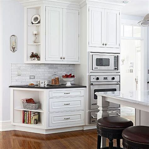 Angled Kitchen Cabinets by Angled End Of The Wall Cabinets Guild Towards The