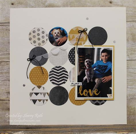 scrapbook layout ideas 5 photos sherry quot s sted treasures simple scrapbook layout using