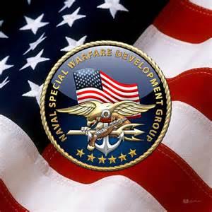 Charming Framed American Flag Art #6: Naval-special-warfare-development-group-devgru-emblem-over-us-flag-serge-averbukh.jpg