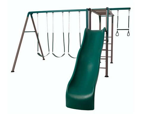lifetime swing set accessories lifetime monkey bar adventure swing set playground