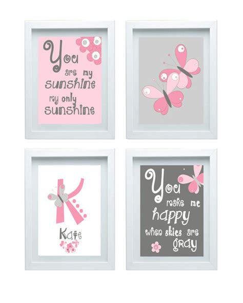 Butterfly Nursery Decor Butterfly Nursery Decor Quote You Are My Wall