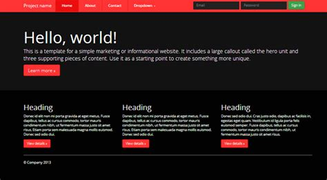 bootstrap theme free black deal of the week 22 quality bootstrap 3 0 themes