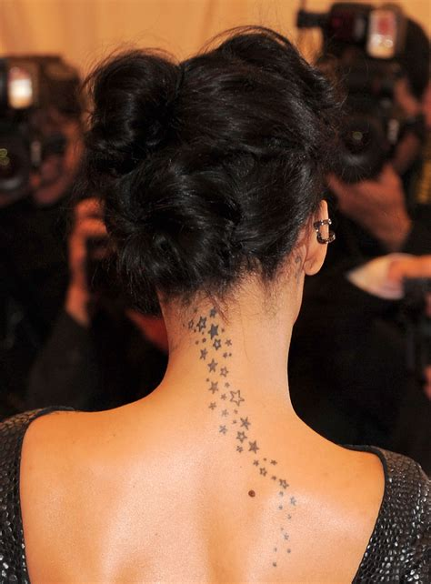 star neck tattoo designs neck favething