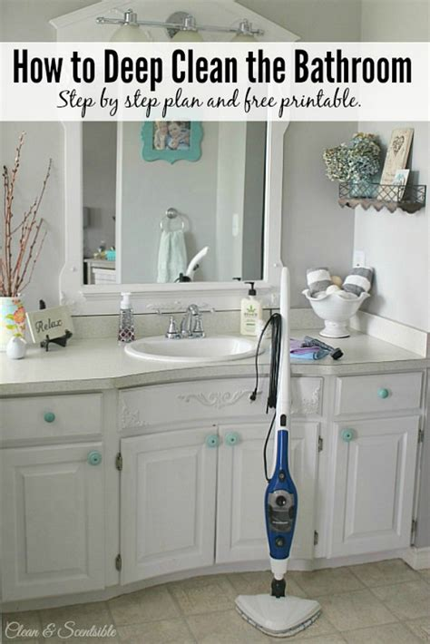 how to professionally clean a bathroom the best cleaning tips of 2015 clean and scentsible