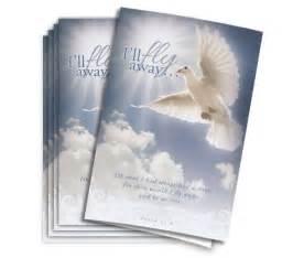 funeral programs preprinted paper memorial or funeral service arrangements