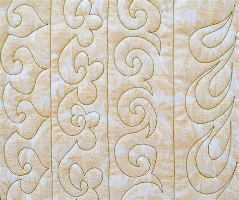 Quilting Border Designs Free by Finishing Up Our Free Motion Quilting Sle Book Quiltsocial