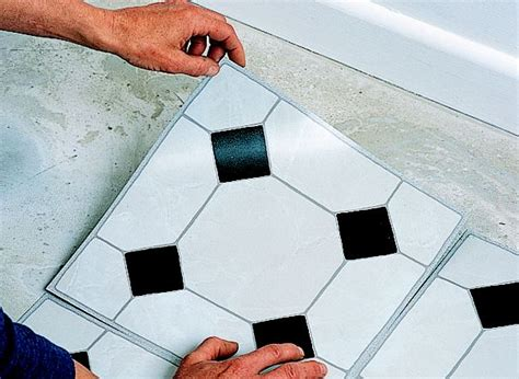 lay vinyl floor tiles ideas advice diy  bq