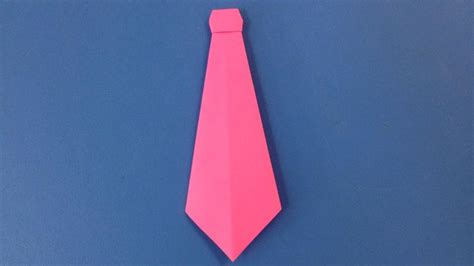 How To Make A Paper Tie That You Can Wear - how to make a paper neck tie easy origami neck ties for