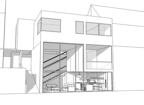 project house project house exterior view by specter tc on deviantart