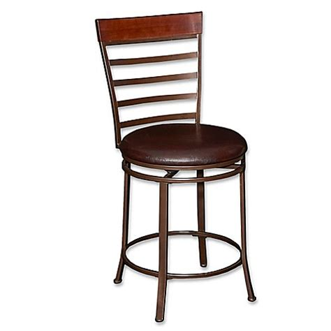 Big And Counter Stools by Miller Big Counter Stool In Bronze Bed Bath Beyond