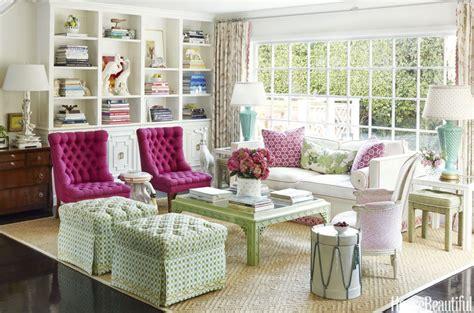 pink and green home decor la dolce vita