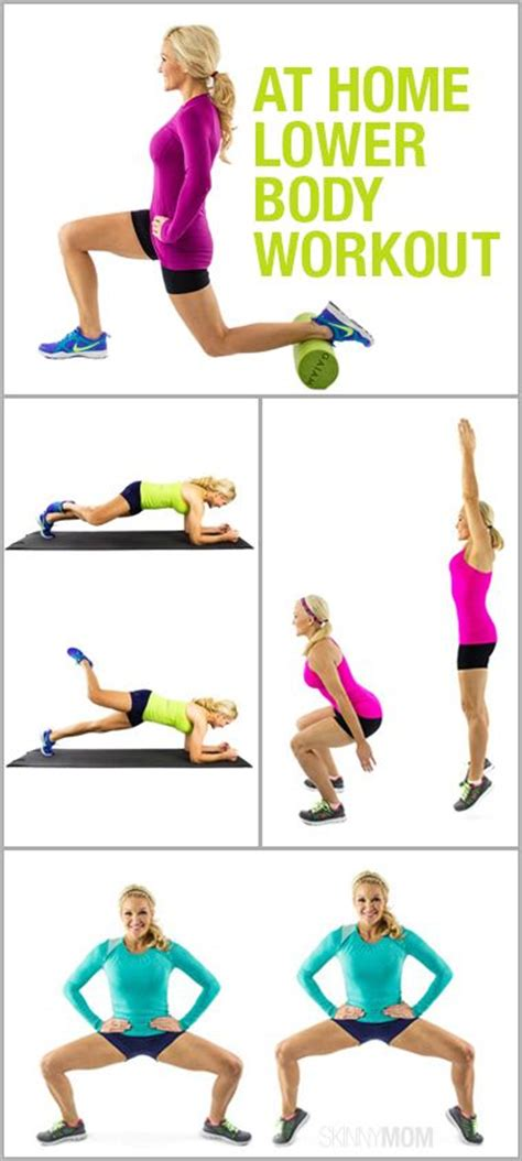 show some leg exercises to do at home for your lower