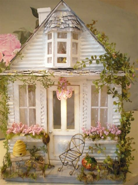 miniture doll house cottage dollhouse miniatures pinterest