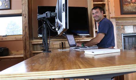stand up desk diy diy standing desk diy pete stand modern
