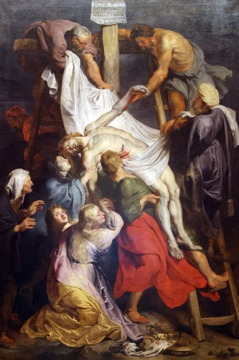 the descent from the cross rubens 1617 wikiwand