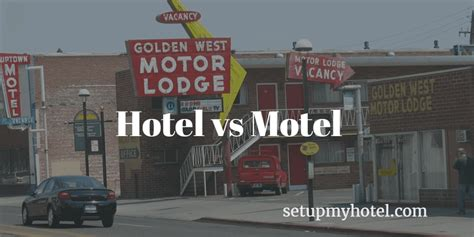 motel and inn difference between hotel and motel