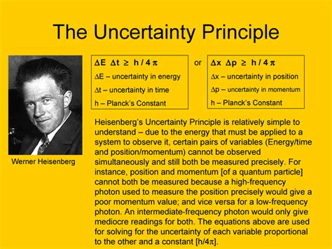 The Heisenberg Principle the heisenberg uncertainty principle 1