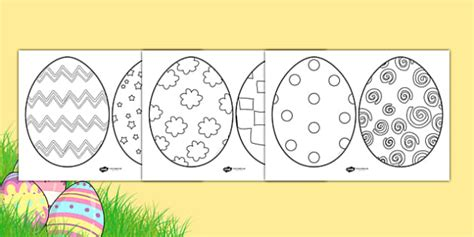 Easter Card Templates Twinkl by Easter Egg Template Easter Egg Template Easter Egg